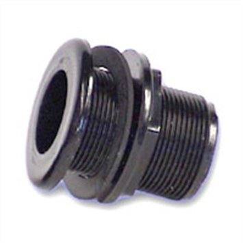 "1"" Double Threaded Bulkhead"